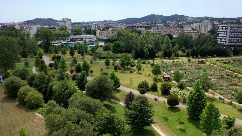 Parque da Devesa em Famalicão