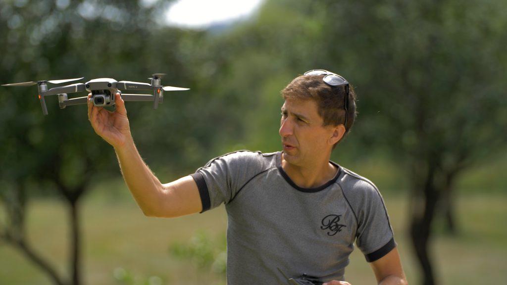 Marco neiva apanhar drone