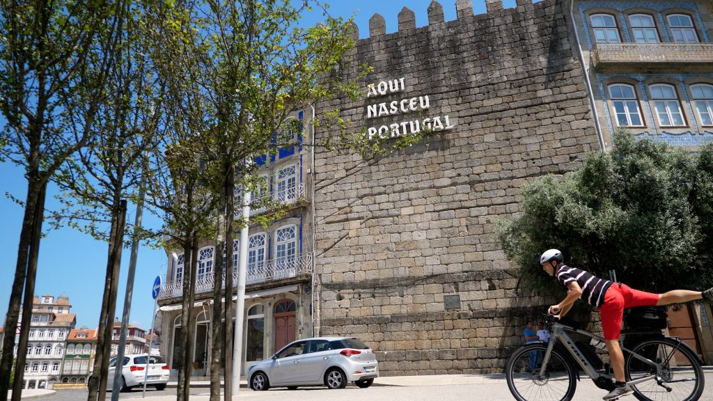 Marco Neiva a visitar Guimarães