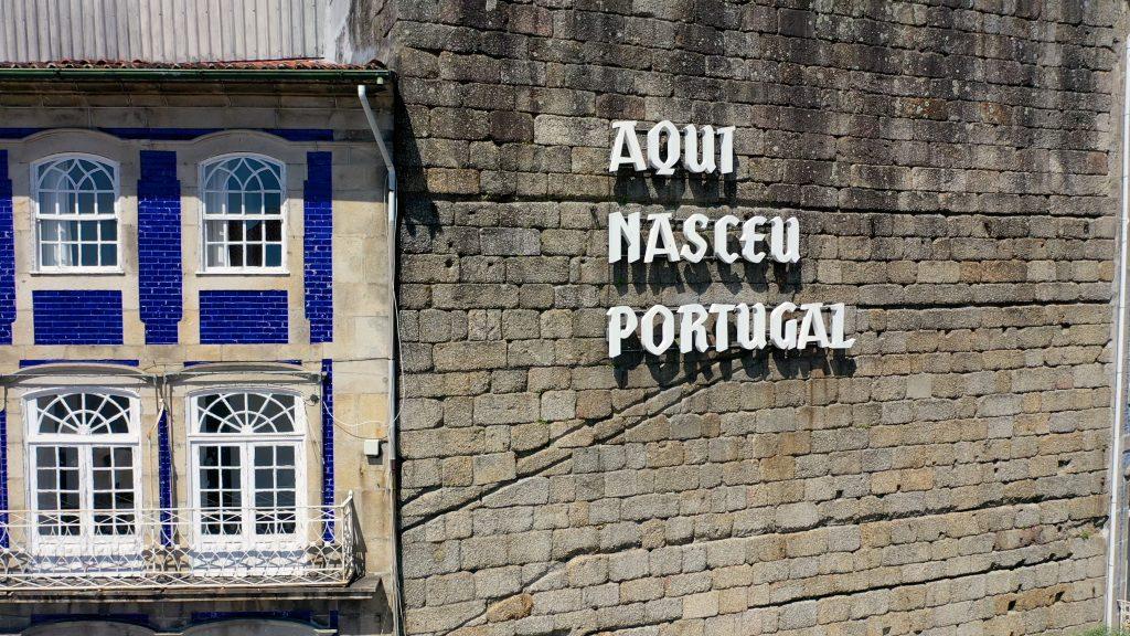 guimarães aqui nasceu portugal