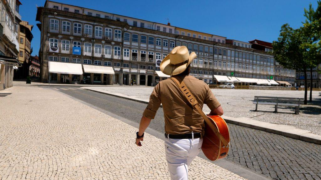 Praça do Toural em Guimarães