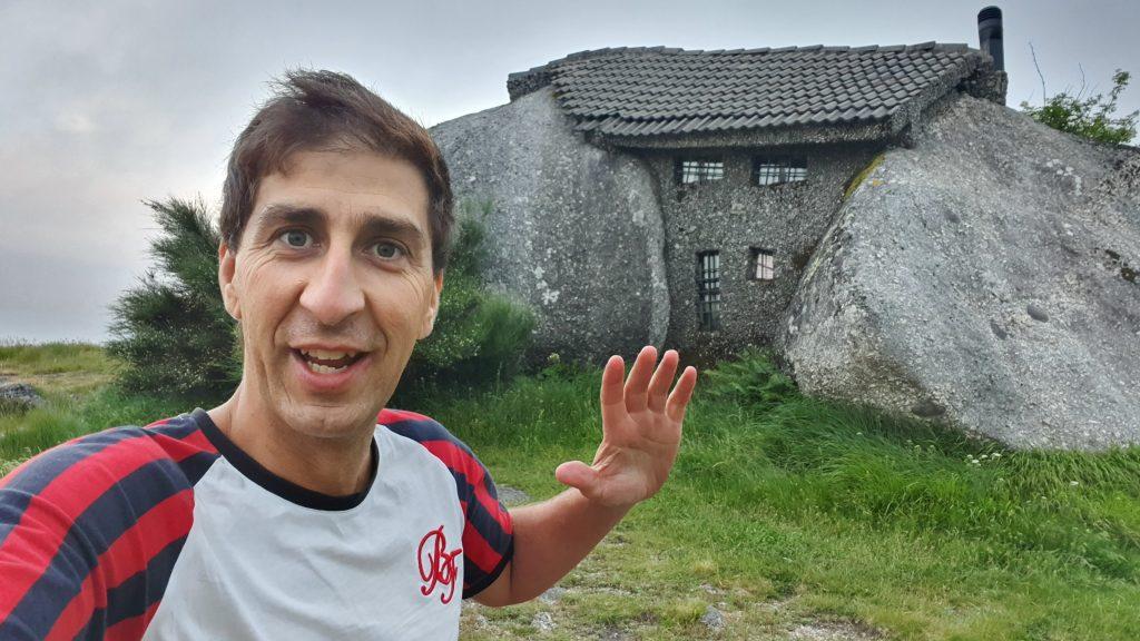 Selfie Marco Neiva na caso do Penedo