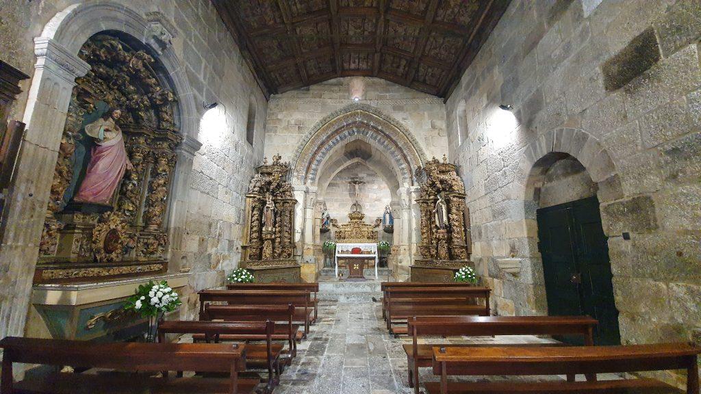 Interior da Igreja de Arões