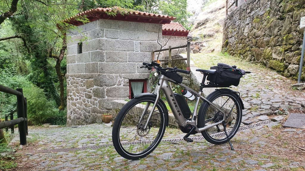 Aldeia do Pontido de bicicleta
