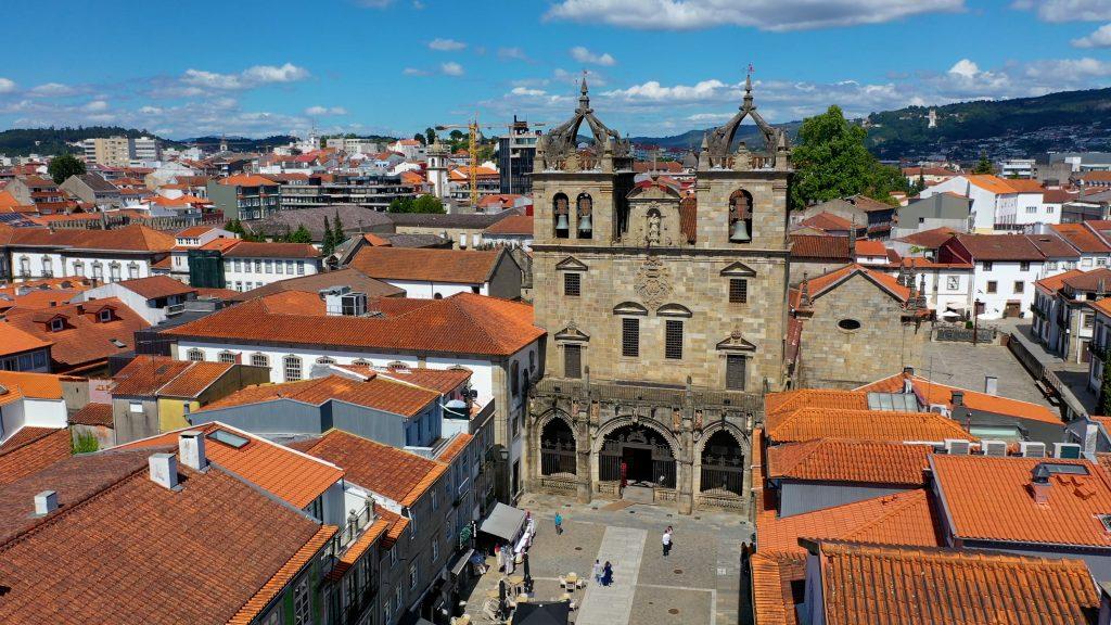 Sé de Braga - Vista aérea
